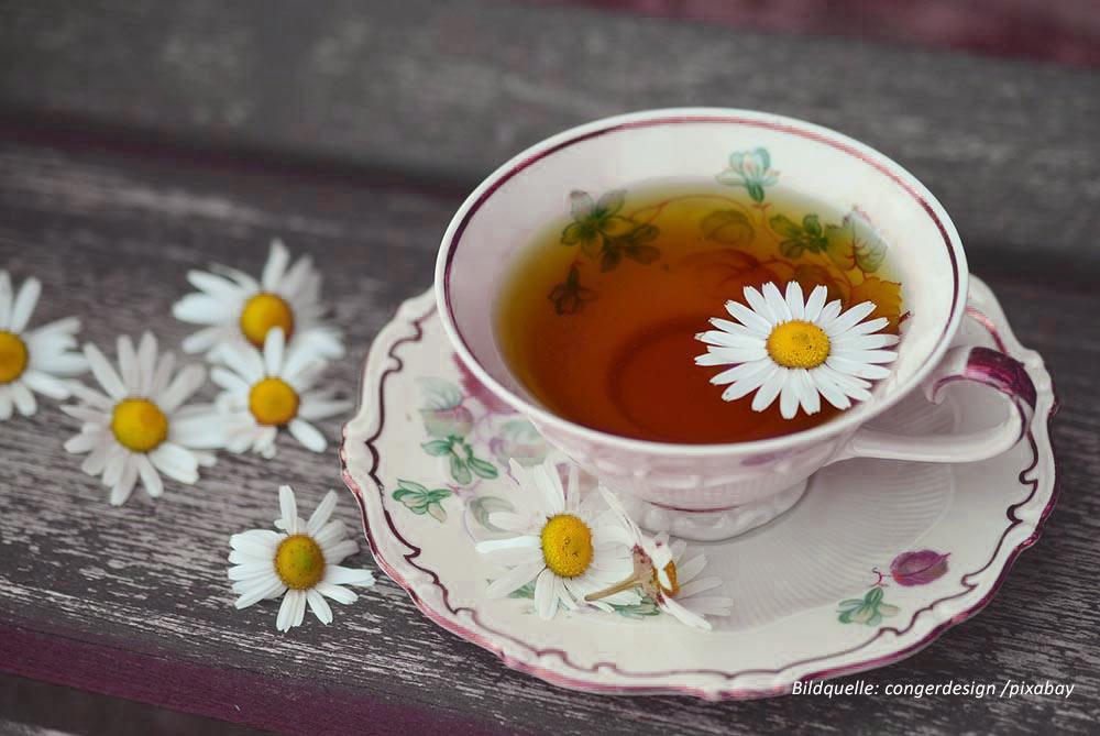 Teetasse mit Tee