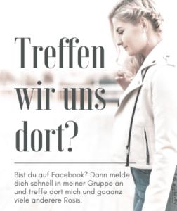 Facebookgruppe von rosacea-blog.de