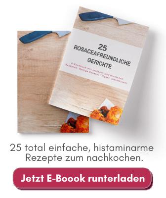E-Book: 25 Rezepte für Rosacea